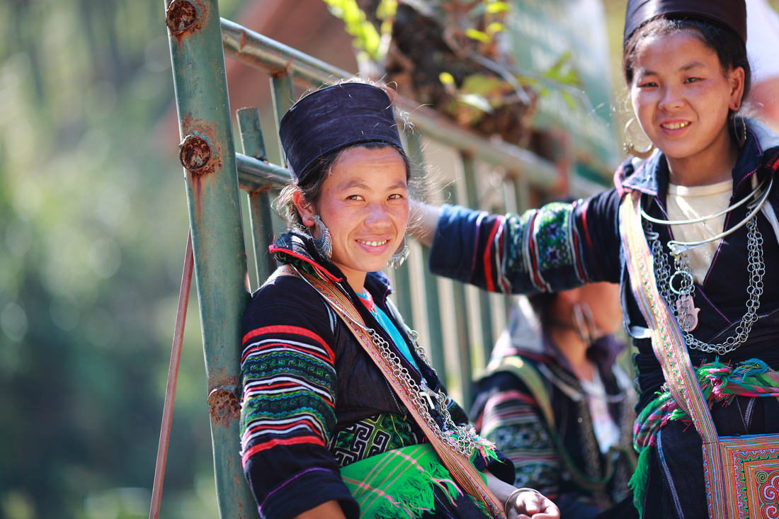 Hmong people in north Vietnam